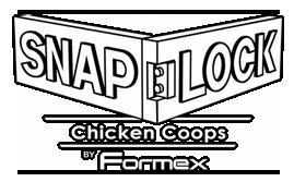Snap Lock Chicken Coops
